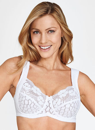 Non-Wired Bra Miss Mary of Sweden Lovely Lace Shaping